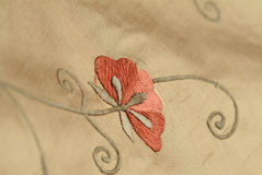 kwiat tkaniny Obraz Stock