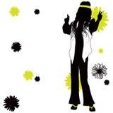 Kwiat władza ilustracji