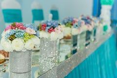 Kwiat wazy zdjęcia stock