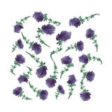 Kwiat, wektorowa ilustracja Obrazy Stock