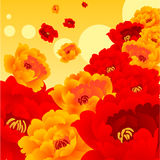 kwiat świeci Obrazy Royalty Free