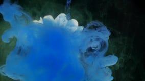 Kwiat z atramentu abstrakta tłem Obraz Stock