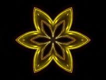 kwiat złoto ilustracji