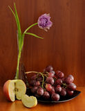 Kwiat z owoc Obraz Royalty Free