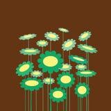kwiat zieleń Obraz Royalty Free