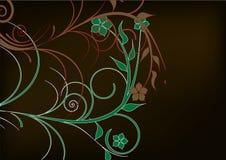 kwiat zieleń ilustracja wektor