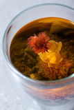 Kwiatonośna herbata Fotografia Stock