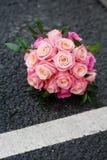 Kwiatu ślubny bukiet Obrazy Royalty Free