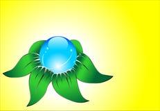 kwiatu abstrakcjonistyczny wektor Zdjęcie Royalty Free