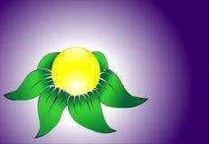 kwiatu abstrakcjonistyczny wektor Zdjęcia Stock