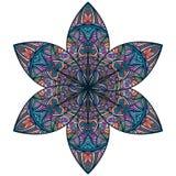kwiatu abstrakcjonistyczny wschodni styl ilustracji