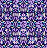 kwiatu abstrakcjonistyczny wzór ilustracja wektor