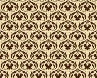 kwiatu abstrakcjonistyczny wzór Zdjęcia Royalty Free