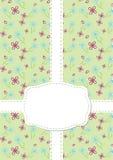 kwiatu bezszwowa rocznika tapeta Obraz Stock