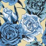 Kwiatu bezszwowy wzór Fotografia Stock