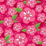 Kwiatu bezszwowy wzór Zdjęcie Stock