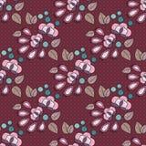 Kwiatu bezszwowy wzór Fotografia Royalty Free