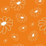 Kwiatu bezszwowy wzór Obrazy Royalty Free
