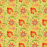 Kwiatu Bezszwowy wzór - ilustracja Ilustracja Wektor