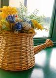 Kwiatu bukieta garnek Zdjęcie Stock
