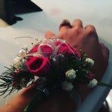 Kwiatu corsage zdjęcia stock