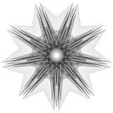 kwiatu 3d geometria natura Zdjęcie Stock