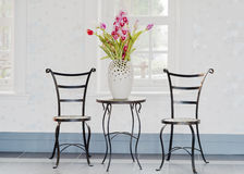 kwiatu dekoracyjny pokój Zdjęcia Royalty Free