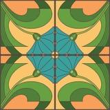 kwiatu dekoracyjny wzór Obrazy Stock