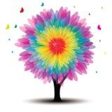 kwiatu drzewa wektor Obraz Stock