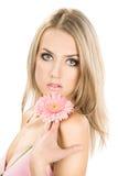 kwiatu dziewczyny oferta obrazy royalty free