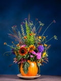 Kwiatu dziki bukiet Zdjęcie Stock
