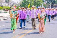 Kwiatu festiwal Zdjęcie Stock