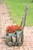 Kwiatu furgon Obrazy Royalty Free