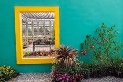 Kwiatu garden& x28; Suan płuco Wut& x29; Obraz Stock