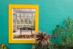 Kwiatu garden& x28; Suan płuco Wut& x29; Obrazy Royalty Free