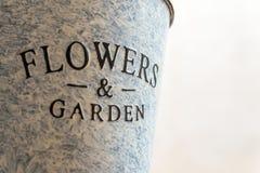 Kwiatu garnek Obraz Royalty Free