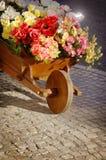 Kwiatu Handcart obrazy royalty free