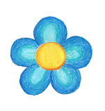 kwiatu handwork Obraz Royalty Free