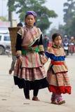 kwiatu hmong ludzie Vietnam Zdjęcia Royalty Free