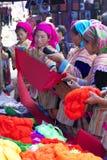 kwiatu hmong mniejszościowi ludzie Vietnam Zdjęcia Stock