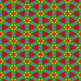 kwiatu jaskrawy wzór Obraz Royalty Free