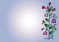 Kwiatu kolor ilustracja wektor