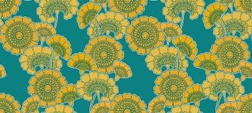 kwiatu śliczny wzór Obraz Stock