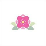 Kwiatu logo Fotografia Royalty Free