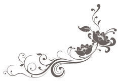kwiatu lotosu wzór Obraz Royalty Free