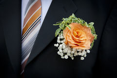 kwiatu ślub Obraz Royalty Free