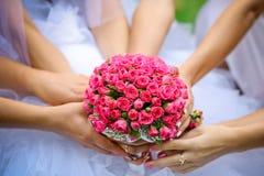 Kwiatu ślubny bukiet Fotografia Royalty Free