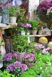 Kwiatu mały sklep Obrazy Stock