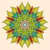 Kwiatu mandala Zdjęcie Royalty Free