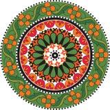 Kwiatu mandala Obraz Royalty Free